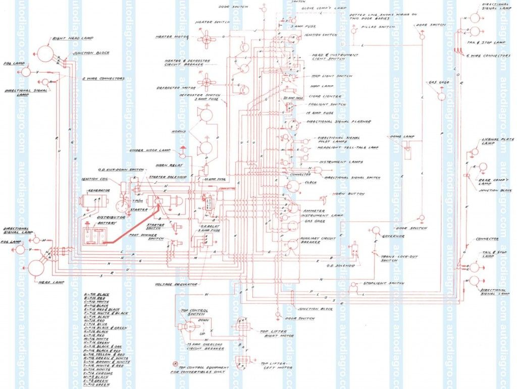 Xz 3428 Wiring Diagram For 1938 Studebaker 6 And Commander Wiring Diagram