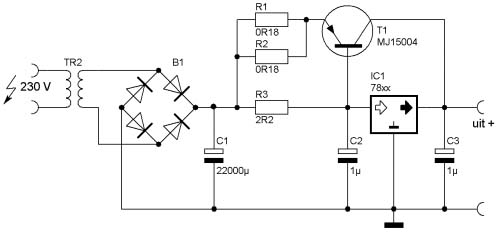 Vr 3566 Circuit Diagram Power Supply Circuit 12v 10a Regulated Power Supply Schematic Wiring