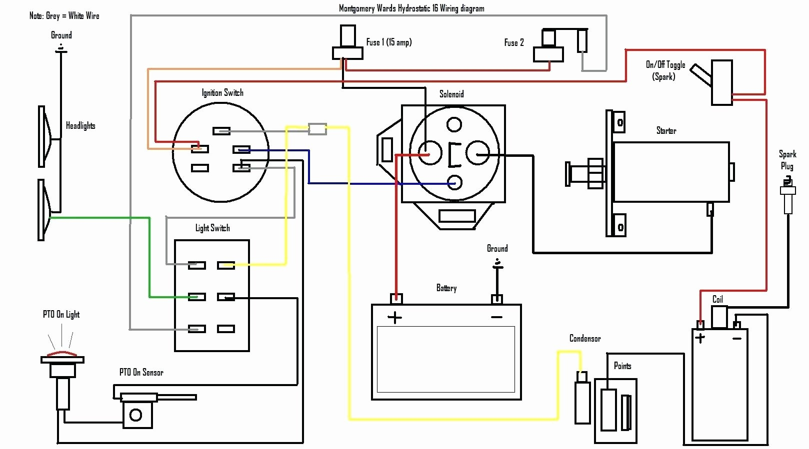 Briggs And Stratton Starter Wiring Diagram Ford F53 Headlight