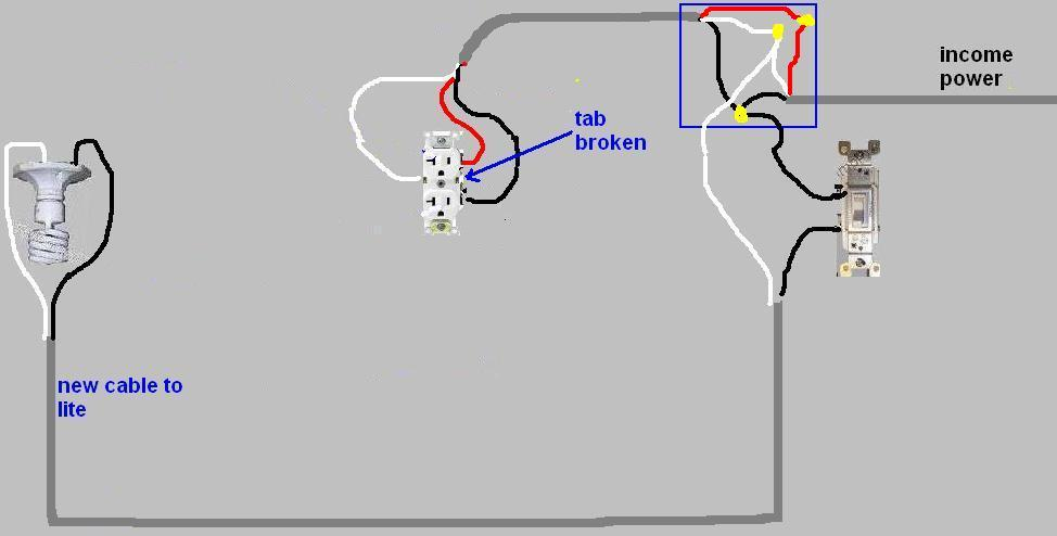 Bv 9310 Light Fixture Wiring Diagram On Diy Light Switch Wiring Diagram