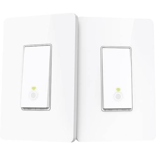Marbo 3-Gang 2-Way 10AX Light Switch White x 2