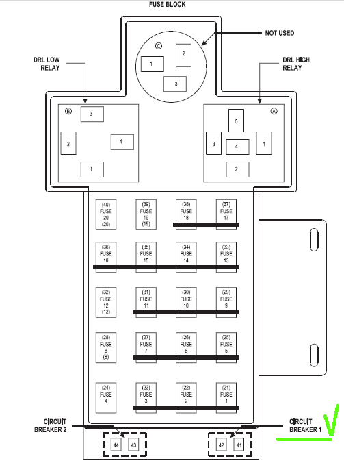 2005 Dodge Neon Fuse Box Diagram - 2007 Kia Rio Headlight Wiring Diagram  for Wiring Diagram SchematicsWiring Diagram and Schematics