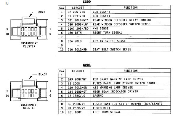 nf4307 tj wiring diagram further jeep wrangler tj tail