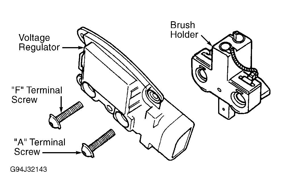 na4183 2001 ford windstar alternator wiring diagram wiring