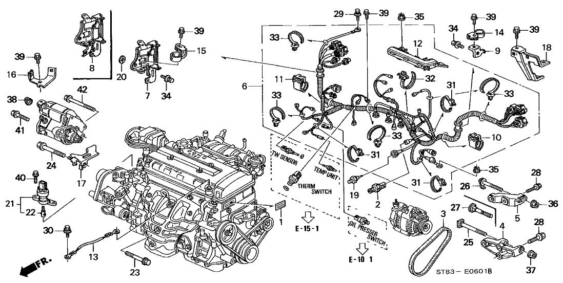 Acura Integra Engine Diagram 97 Toyota 4runner Stereo Wiring Bege Wiring Diagram