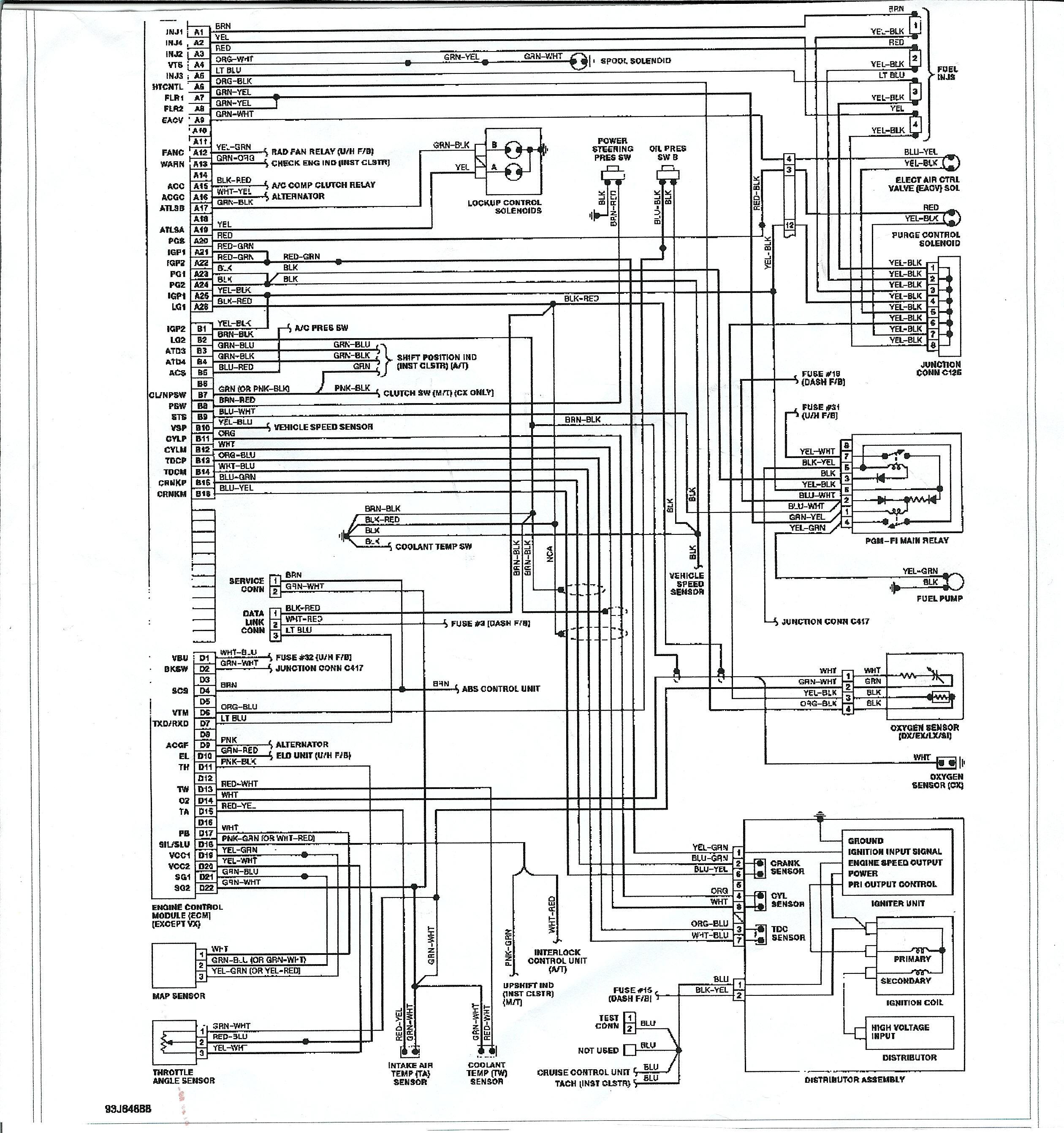 FH 40] Honda Cr V Fuse Box Location Free Diagram