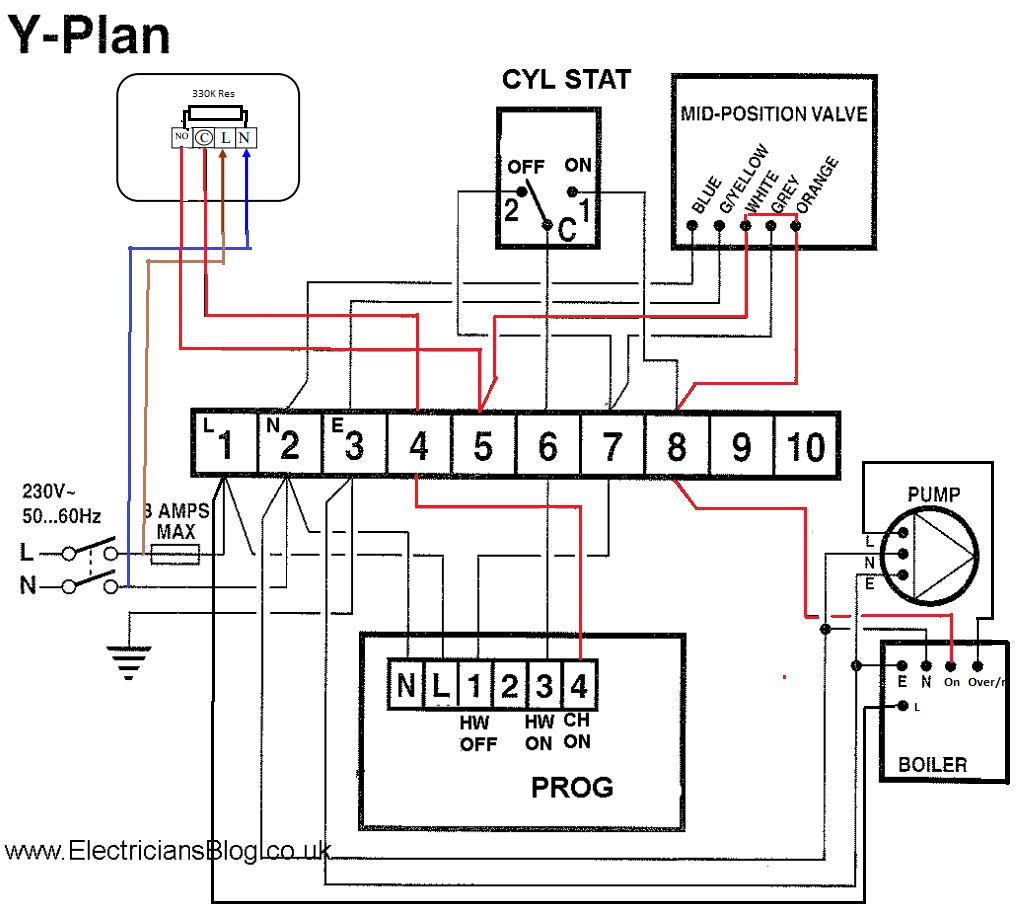 s plan wiring diagram honeywell zc 9926  wiring diagrams y plan central heating  wiring diagrams y plan central heating