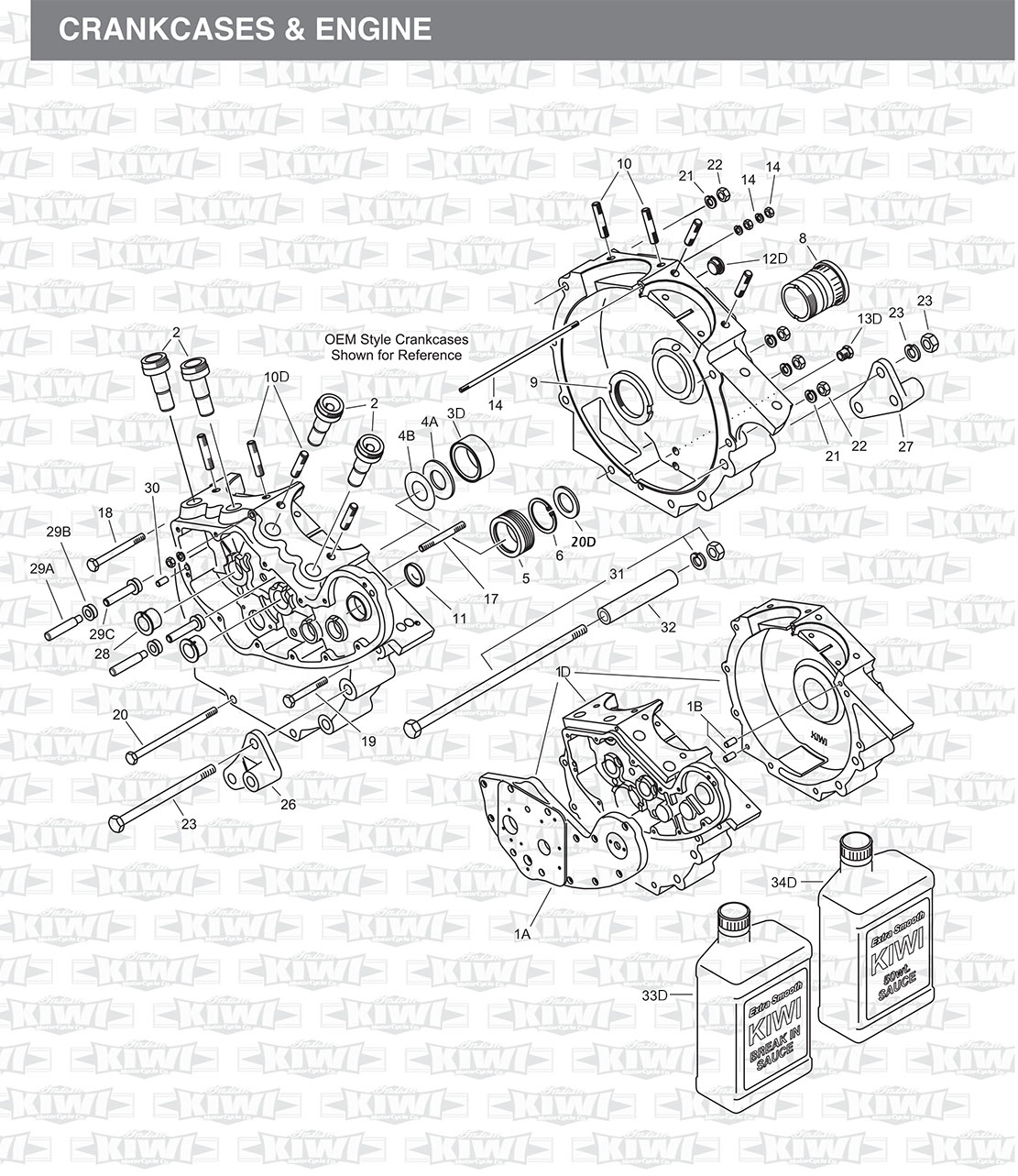 Marvelous Crankcases Engines For Indian Motorcycles Wiring Cloud Grayisramohammedshrineorg