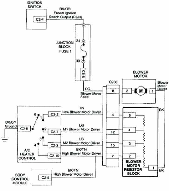 lf8633 2006 silverado blower motor wiring diagram wiring