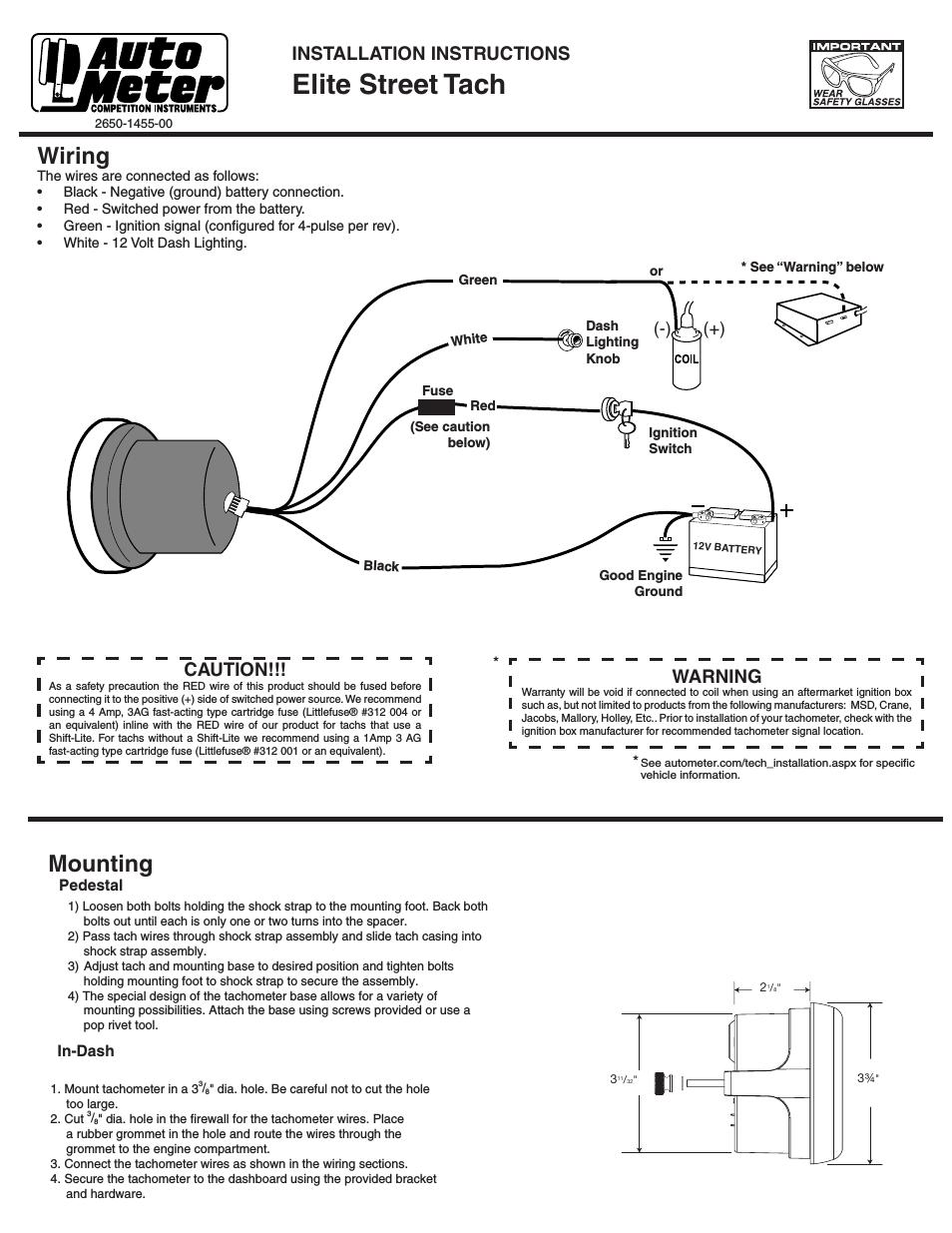 Sport Comp Tach Wiring Diagram - Home Ethernet Wiring Color -  fusebox.1997wir.jeanjaures37.fr | Sport Comp Tach Wiring Diagram |  | Wiring Diagram Resource
