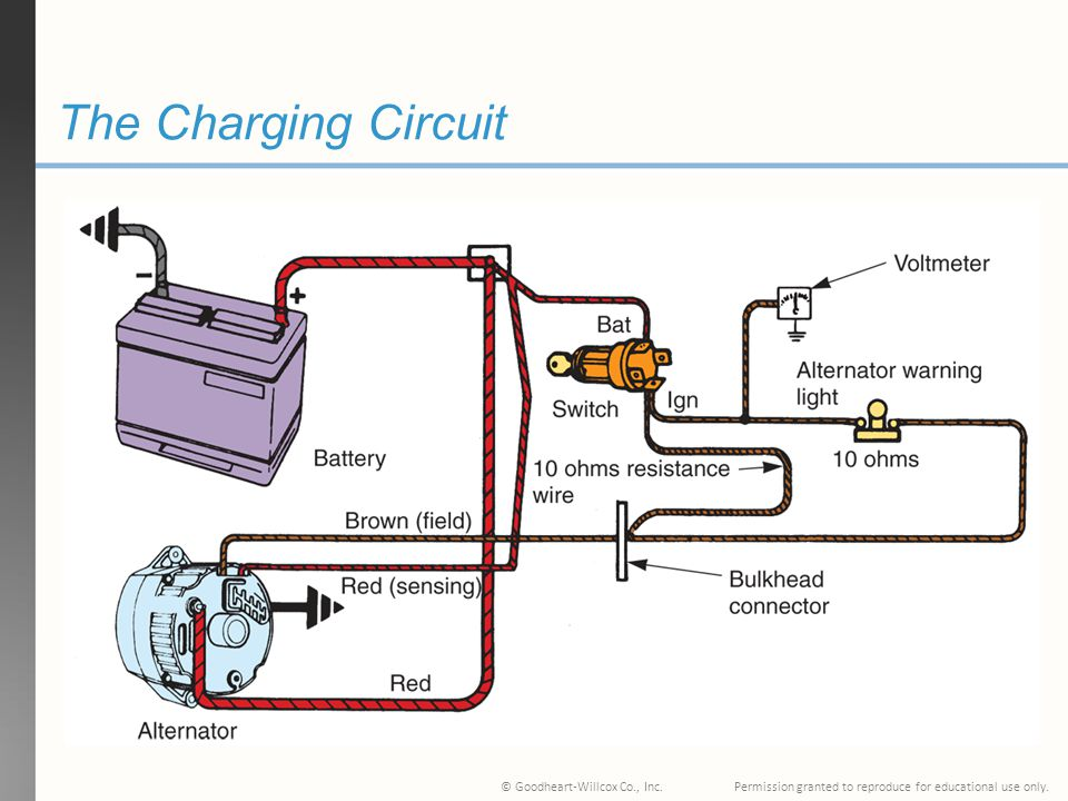 MA_2488] Where Does The Warning Light Fit Into The Circuit From Alternator  Schematic Wiring | Battery Warning Light Wiring Diagram For |  | Exxlu Ivoro Rect Mohammedshrine Librar Wiring 101