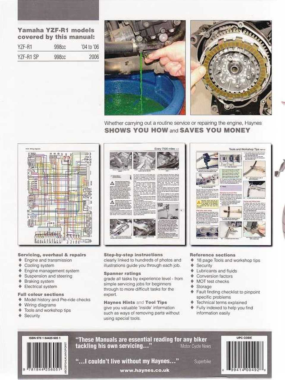 Bm 4622 2006 Yamaha Yzf R1 Wiring Diagram Download Diagram