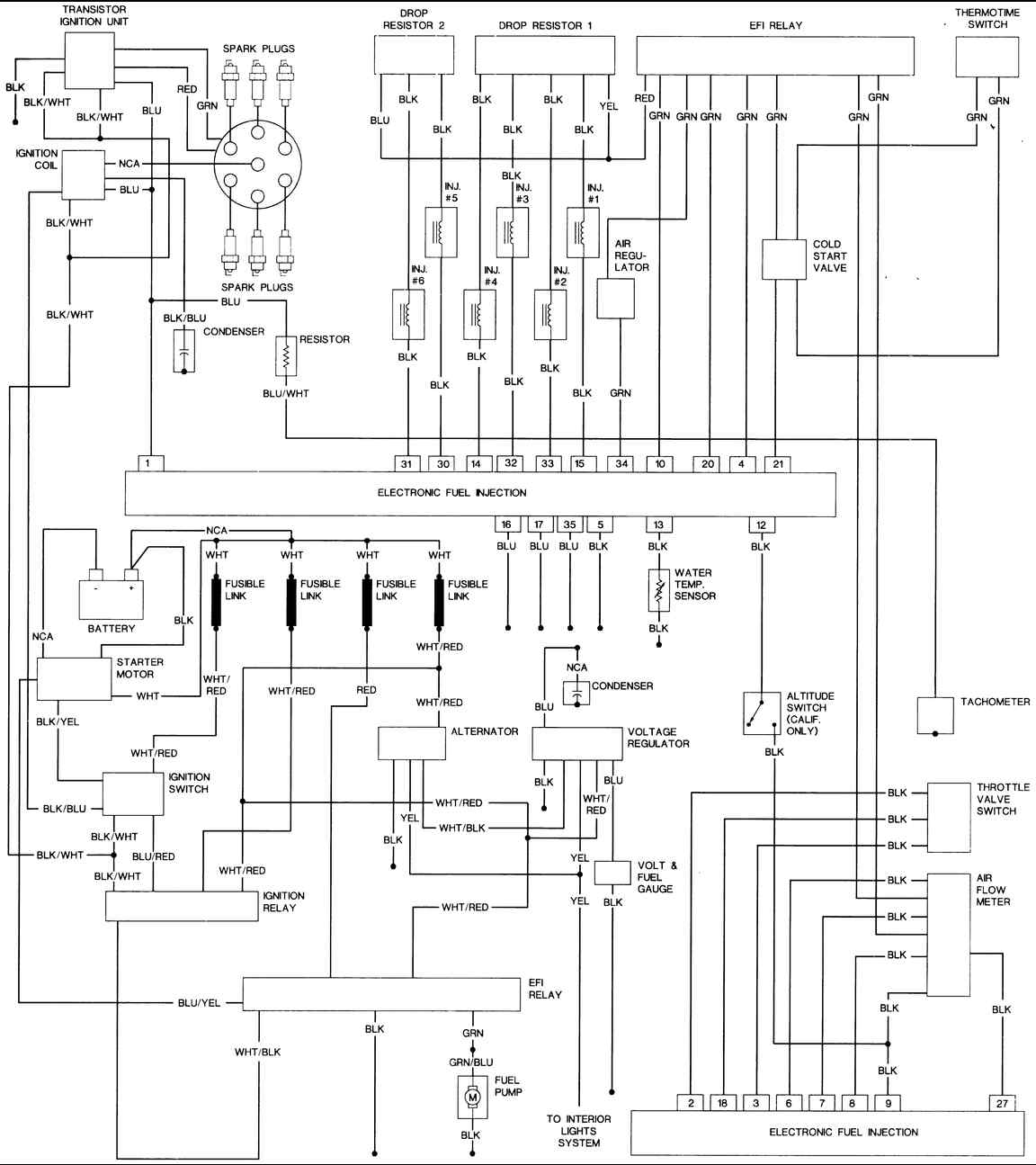 83 280zx Wiring Diagram -1998 Subaru Legacy Fuse Box   Begeboy Wiring  Diagram Source   1981 280zx Injector Wiring Diagram      Begeboy Wiring Diagram Source