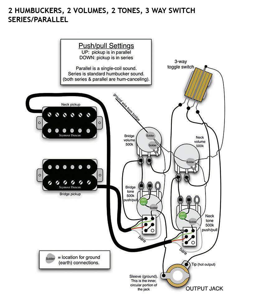 Gibson 3 Humbucker Wiring Diagram - Database