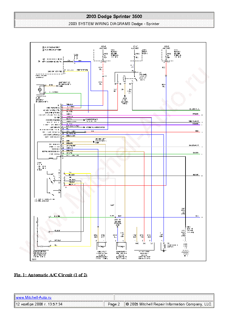 2008 Dodge Sprinter Wiring Diagrams Wiring Diagram Overview1 Overview1 Bujinkan It