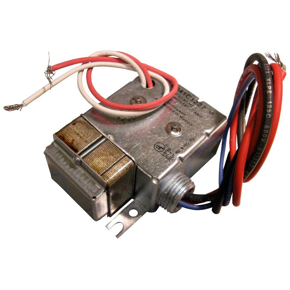 Enjoyable Cadet 5 Kw 240 Volt To 24 Volt 1 Circuit Electric Heating Relay With Wiring Cloud Uslyletkolfr09Org