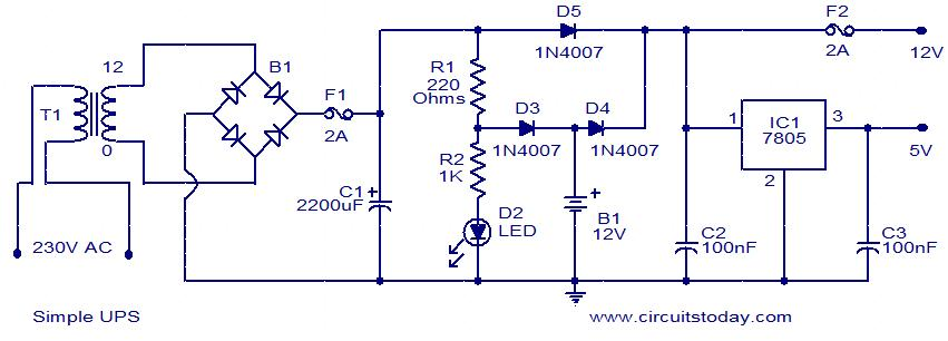 Fine Need Ups Circuit Diagram Basic Electronics Wiring Diagram Wiring Cloud Overrenstrafr09Org