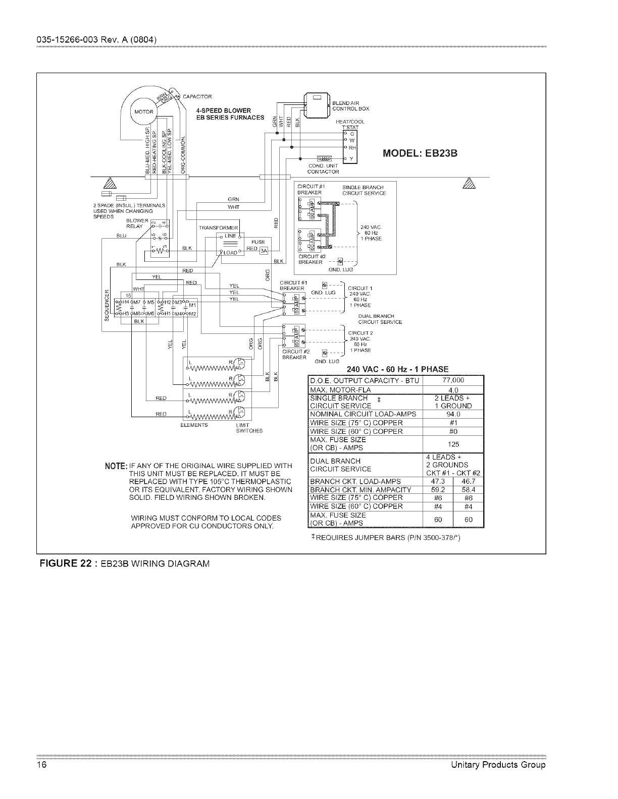 Coleman Electric Furnace Wiring Schematic