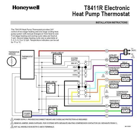 Wiring Diagram On Honeywell Thermostat