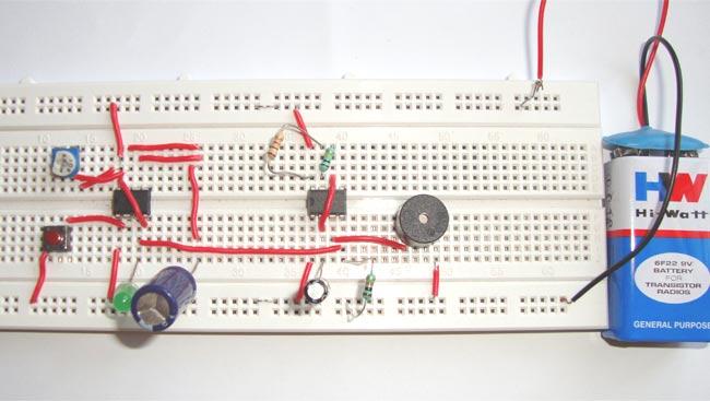 Super Doorbell Circuit Diagram Using Ic 555 Wiring Cloud Monangrecoveryedborg