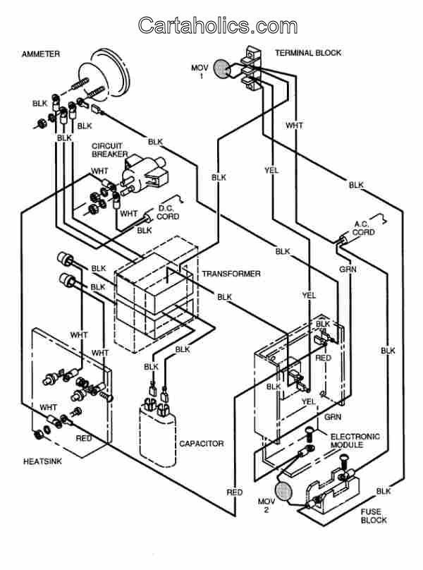 Tt 8613 93 Club Car Ds Wiring Diagram Free Download Wiring