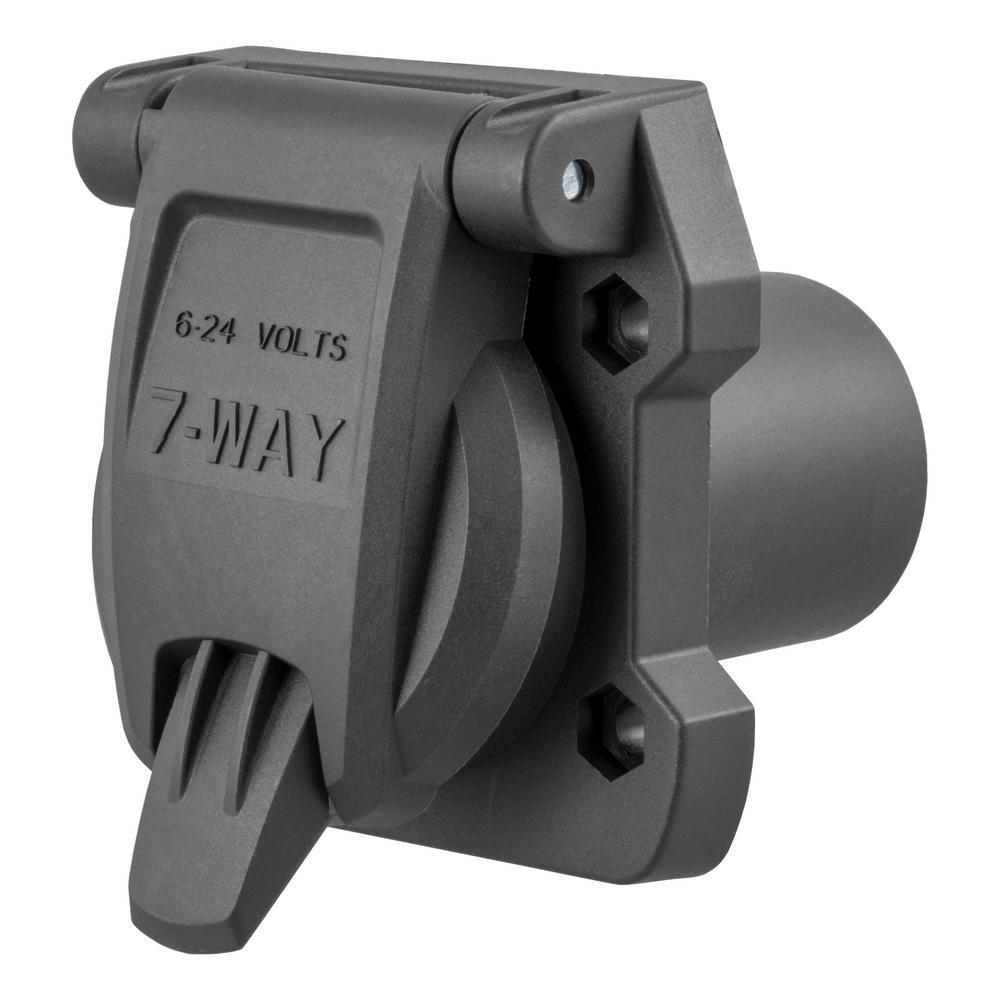 BF 40] Details About Curt 40Way Round Rv Blade Wiring Connector ...