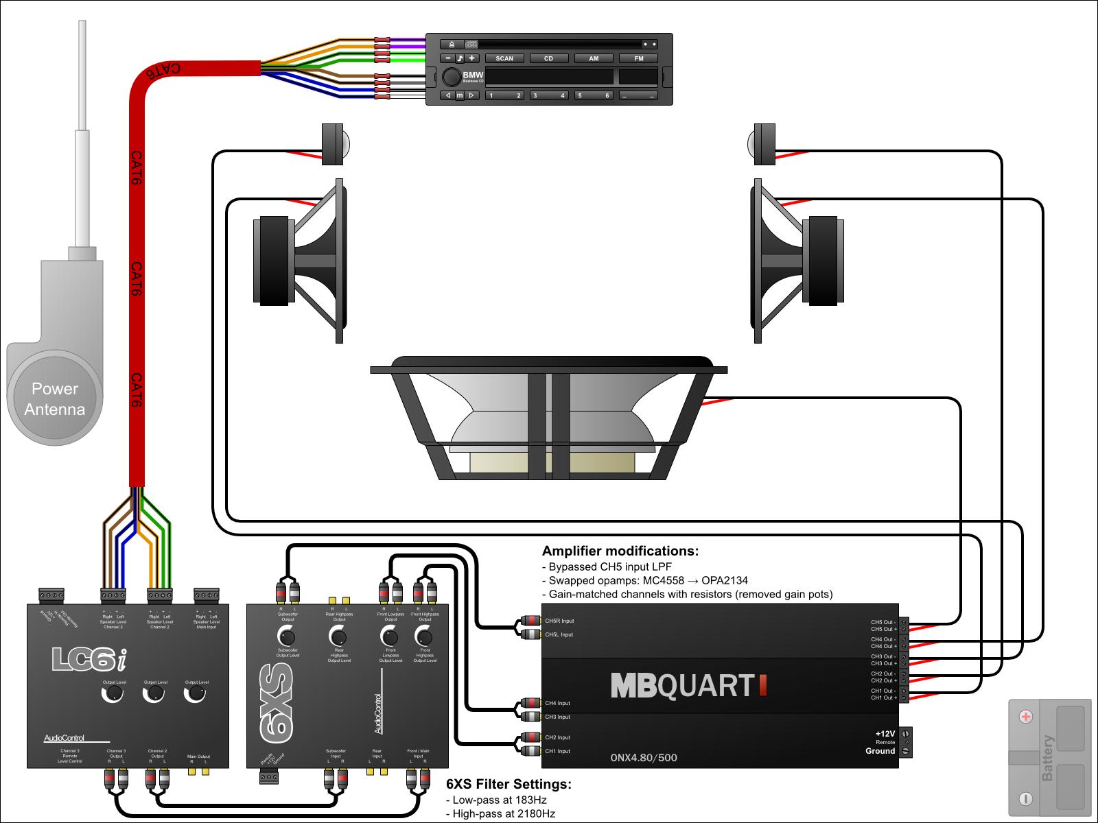 Fabulous Car Amp Diagram Basic Electronics Wiring Diagram Wiring Cloud Eachirenstrafr09Org