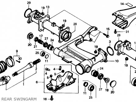 Amazing Joint Comp Yoke For Trx350 Fourtrax 1992 N Canada Sul Order At Wiring Cloud Licukshollocom