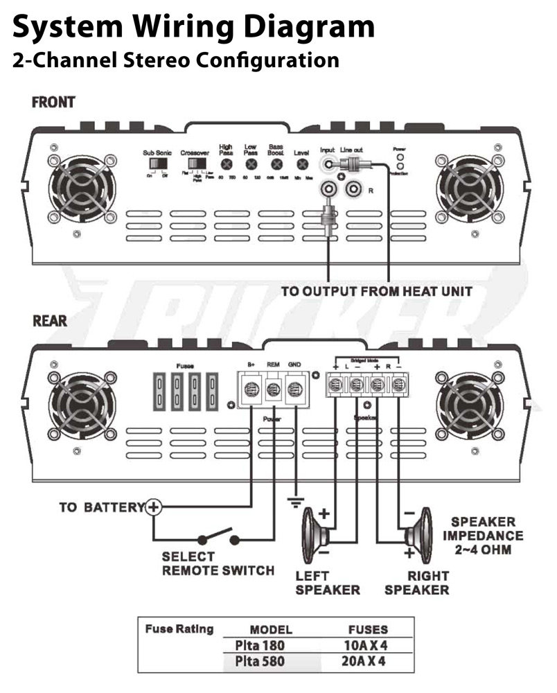[TBQL_4184]  VW_0580] Car Audio Amplifier Wiring Diagrams View Diagram Free Diagram | Lanzar Wiring Diagram |  | Www Mohammedshrine Librar Wiring 101