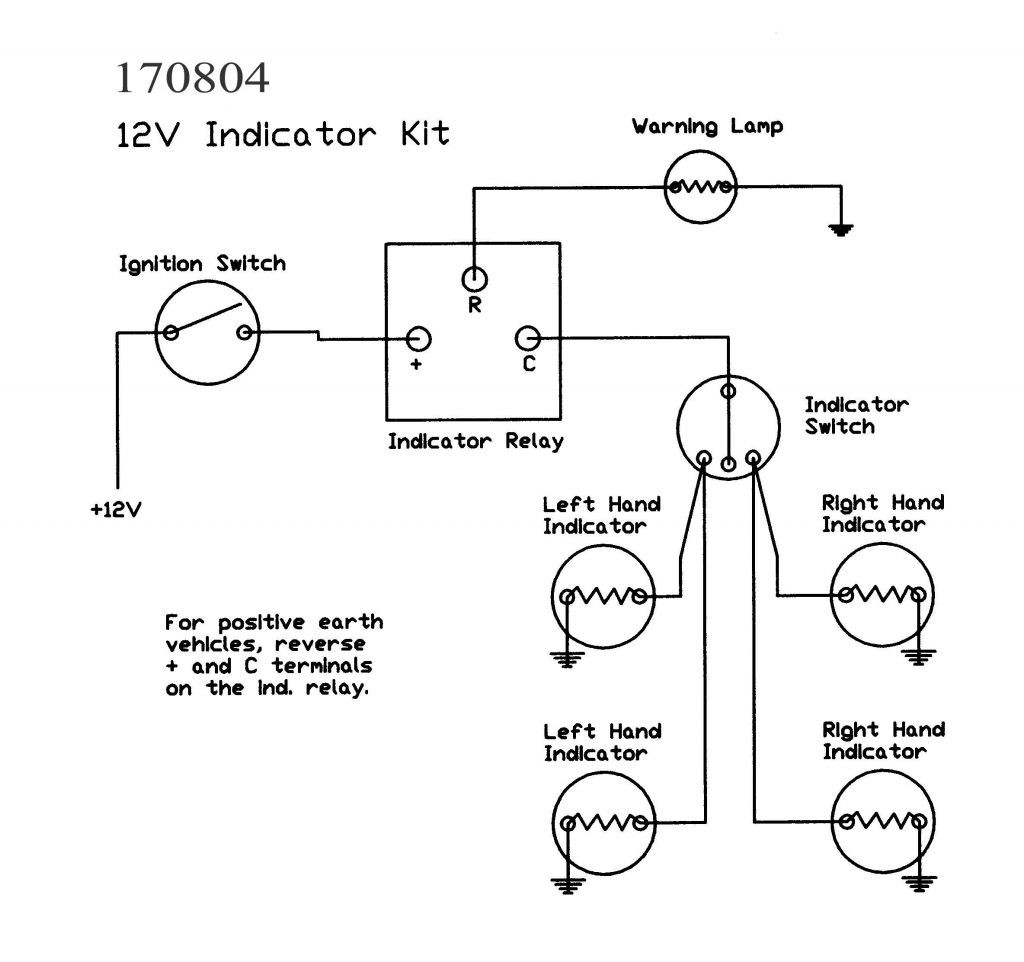 Wiring Diagram For A Flasher Relay