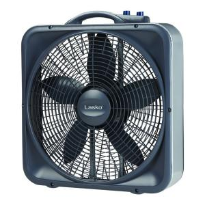 Pleasant Lasko Weather Shield Select 20 In 3 Speed Box Fan With Thermostat Wiring Cloud Hisonepsysticxongrecoveryedborg