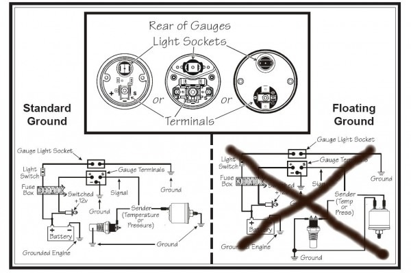 ze 7510  fuel pressure gauge wiring diagram in addition