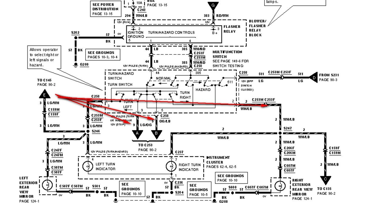 Dn 5105  Ford Escape Tail Light Wiring Diagram Schematic