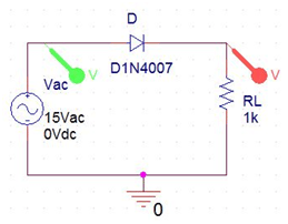 Astounding Half Wave Rectifier Circuit With Without Filter Wiring Cloud Uslyletkolfr09Org