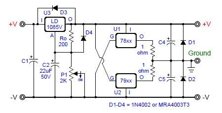 Remarkable Virtual Ground Regulated And Rail Splitter Circuits Wiring Cloud Xempagosophoxytasticioscodnessplanboapumohammedshrineorg
