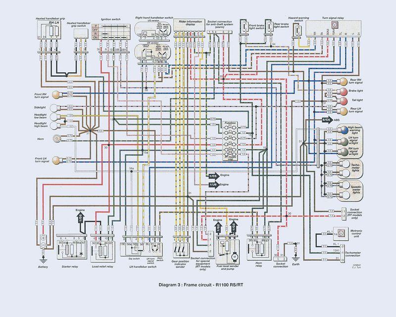 Az 7199  Bmw Motorcycle Wiring Download Diagram