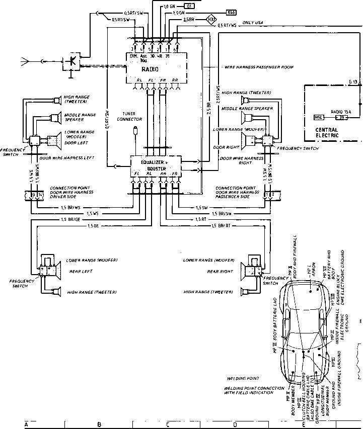 Superb Porsche 944 Radio Wiring Basic Electronics Wiring Diagram Wiring Cloud Cranvenetmohammedshrineorg