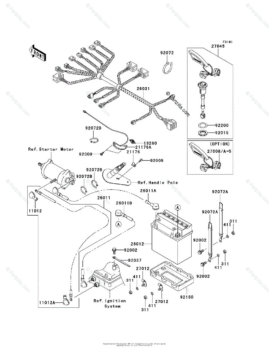 Wiring Diagram Kawasaki Jet Ski 1993