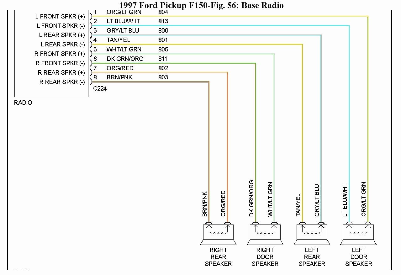 1997 Ford Radio Wiring Diagram Data