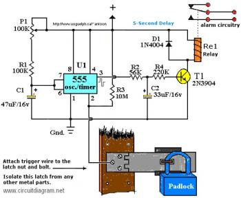 Tremendous Alarm Circuit Page 9 Security Circuits Next Gr Wiring Cloud Genionhyedimohammedshrineorg