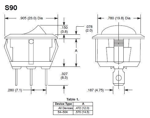 ac 3 prong rocker switch wiring diagram oz 0760  rocker switch wiring diagram free diagram  oz 0760  rocker switch wiring diagram