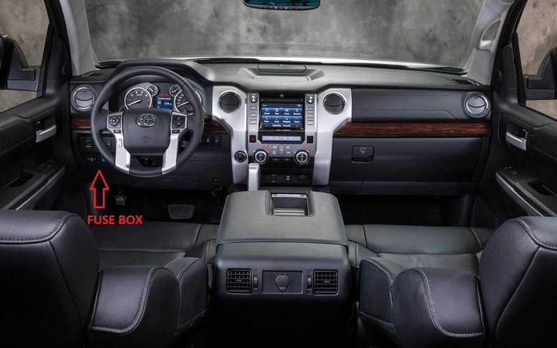 Admirable Interior Fuse Box Location And Information Toyota Tundra Forum Wiring Cloud Gufailluminateatxorg