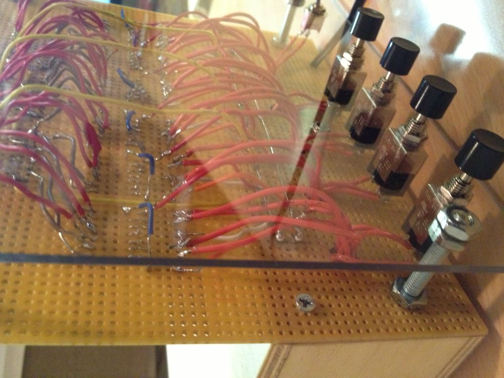 Peachy Homemade Ttl Circuit 24 Hour Digital Clock Wiring Cloud Loplapiotaidewilluminateatxorg