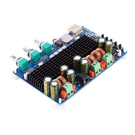 Tremendous Amazon Com Digital 2 1 Channel Amplifier Board Bluetooth Usb Tf Wiring Cloud Genionhyedimohammedshrineorg