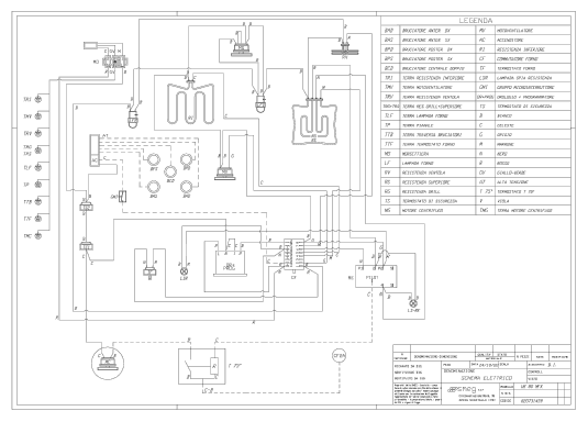 Smeg Range Cooker Wiring Diagram