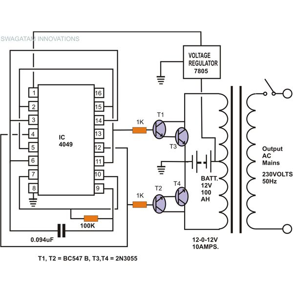 Fine How To Build A Homemade Power Inverter Wiring Cloud Filiciilluminateatxorg