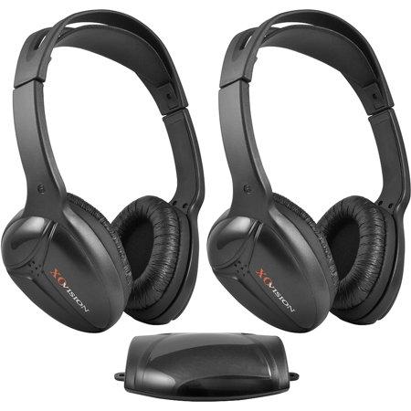 Strange Xo Vision Ir 473 Infrared Wireless Headphones Dual Set Walmart Com Wiring Cloud Biosomenaidewilluminateatxorg