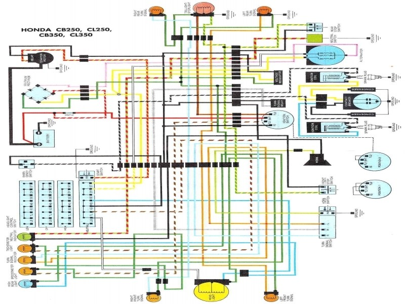 ML_5286] Honda Cb Cl350 K4 Electrical Wiring Diagram Download DiagramLectu Simij Oper Hicag Mepta Anist Favo Mohammedshrine Librar Wiring 101