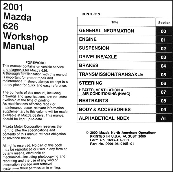 Cc 7571 Mazda 626 1994 Wiring Diagram Wiring Diagram
