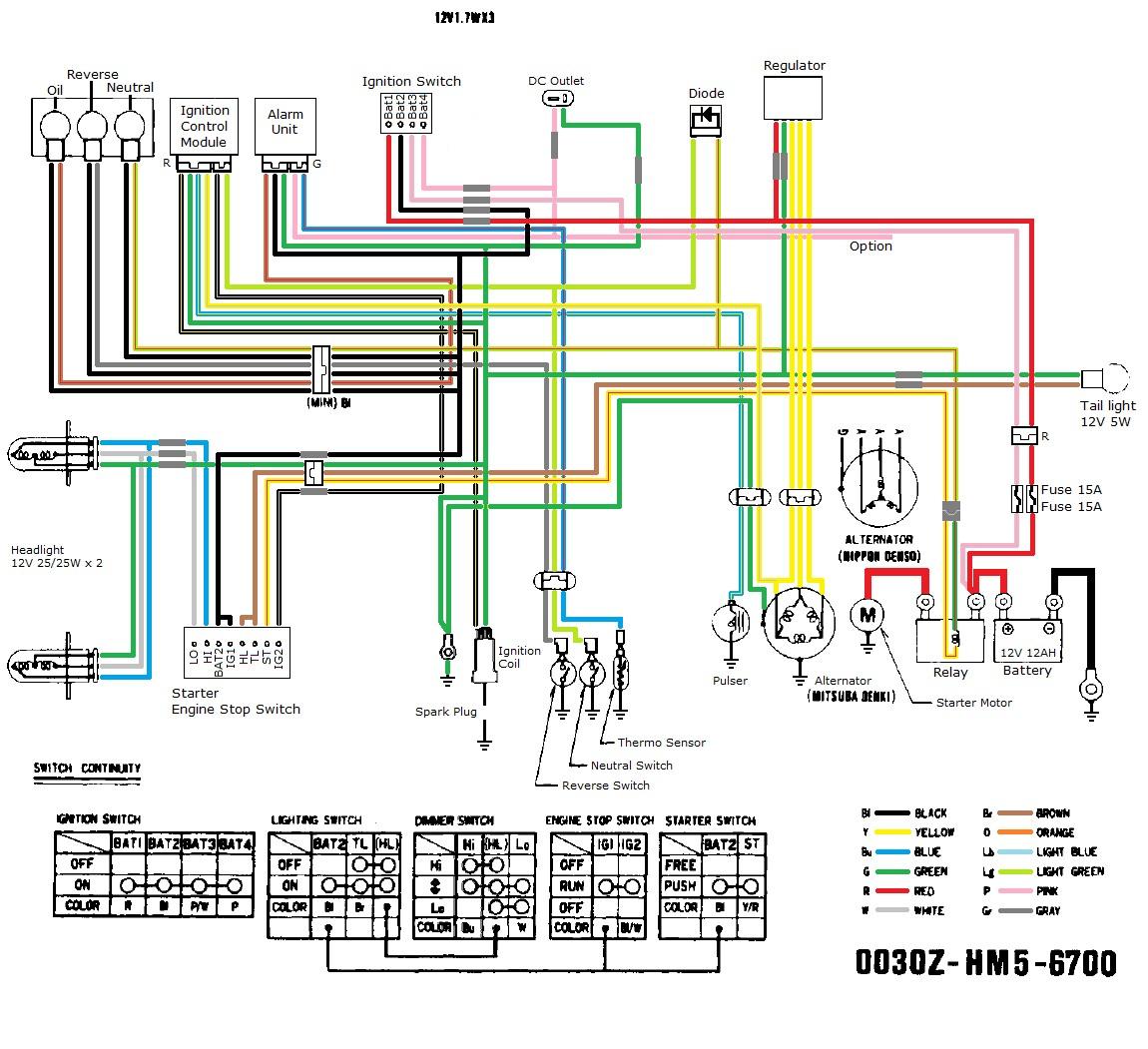 4 Wire Cdi Chinese Atv Wiring Diagrams 110cc Early Ford Alternator Wiring Diagram Duramaxxx Yenpancane Jeanjaures37 Fr